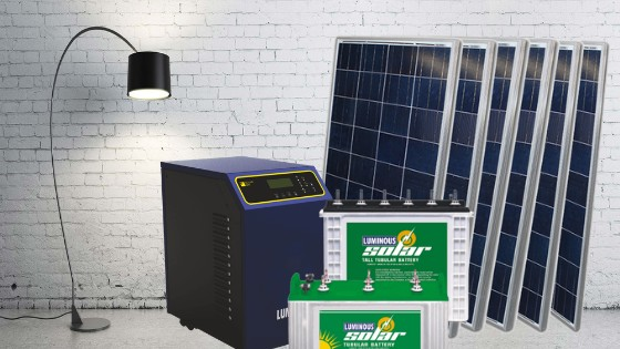 Number Of Solar Panels, Battery Bank & Inverter Load You Need For Your Home
