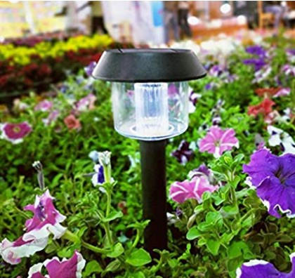 Solar LED Lights for Garden Home Decoration Outdoor Automatic Exterior Battery Lantern Water Proof