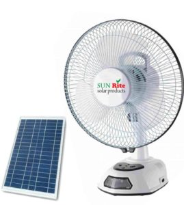 SUN RITE Solar Fan with Hybrid Technology