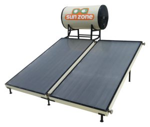 Sun Zone Solar 100 LPD Flat Plate Water Heater