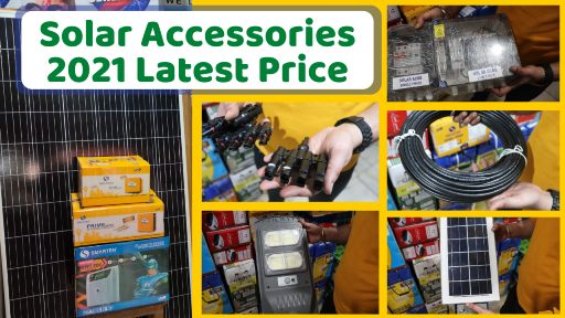 Solar Accessories Prices
